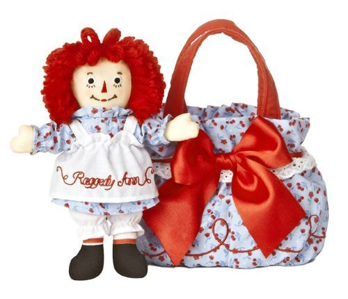Raggedy Ann Fancy Pal Purse with Scrunchy
