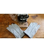 11 pairs Suede Leather Gloves large lg - $38.12