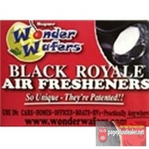 16- Wonder Wafers Black Royale Scent~Amazingly Fresh~ Air Freshener - $7.69