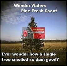 16- Wonder Wafers Mountain Pine Scent~Amazingly Fresh~ - $6.80