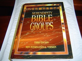 SERENDIPITY BIBLE FOR GROUPS NIV 3RD EDITION (1... - $18.52