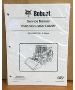 Bobcat S590 Skid Steer Loader Service Manual Shop Repair Book 2 Part # 6... - $60.72+