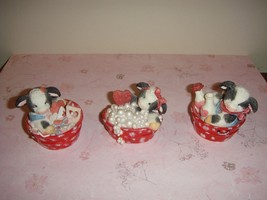 Mary's Moo Moos Cow In Tub Or Bucket Set Of 3 104736 - $27.99