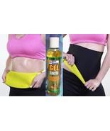 Xtreme Shaper Belt + GEL PINA Wrap - thermo, hot slimming NEOPRENE, Slim... - $17.95