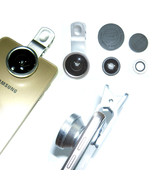 3 in 1 Fisheye + Wide Angle + Macro Camera Clip-on Lens for mobile smart... - $5.87