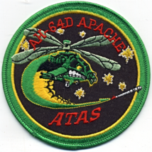US Army AH-64D Apache Assault Helicopter ATAS Launch Mount Embroidered P... - $8.50