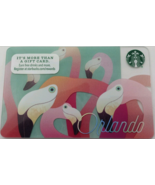 Starbucks 2016 Orlando, Florida Collectible Gift Card New Free Shipping - $3.99