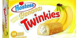 Hostess Banana Twinkies Sponge Cakes - $12.82