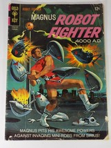 Magnus Robot Fighter 4000 AD 17 Oct 1967 12 cent Gold Key western G/VG O... - $5.99