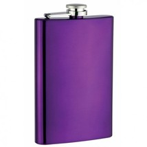 Top Shelf Flask 8 oz Purple Flask - $6.38