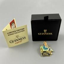 OFCL Guinness LTD Edition Horse & Cart Guinness For Strength Badge 1545/... - $98.99