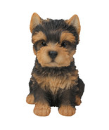 6.4 inches Yorkshire Terrier Puppy Figurine Statues Collectible - $16.82