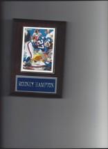 RODNEY HAMPTON PLAQUE NEW YORK GIANTS NY FOOTBALL NFL - $0.49