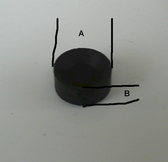 Pack Of 15 Black Rubber Caps 9794