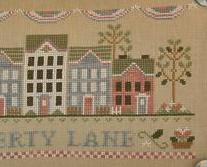 Liberty Lane americana patriotic cross stitch chart Country Cottage Needleworks