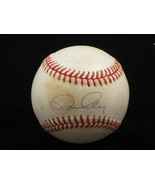 RON CEY Single Signed Baseball 1981 Dodgers Cubs - $48.95