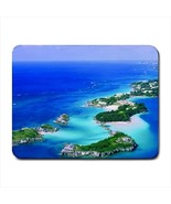 Bermuda Pink Sand Beaches Mousepad (Neoprene Non-slip Mousemat) - $7.71