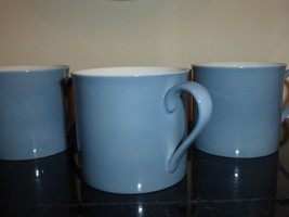 DANSK TAPESTRIES JACQUARD JACK LENOR LARSEN BLUE CUPS - $29.00