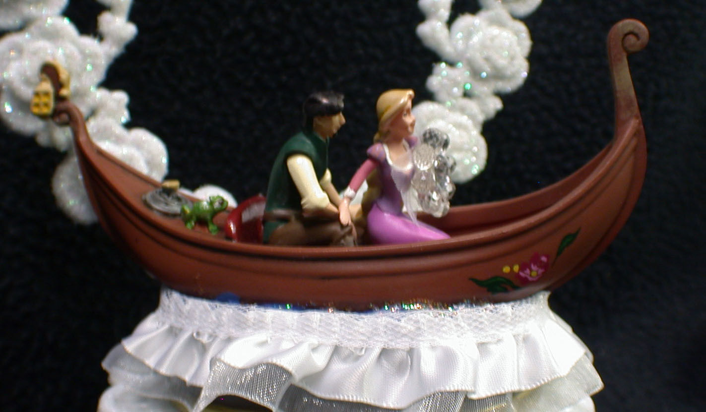 tangled wedding cake topper tangle rapunzel flynn musical disney wedding cake topper 20753