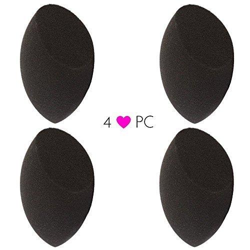 pro Contour Sponge: Black Makeup Blender 4pc Set – Beauty Junkees - $19.00