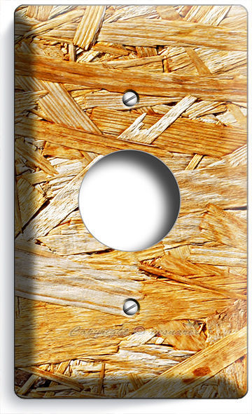 RUSTIC ROUGH PLYWOOD WOOD LIGHT SWITCH OUTLET WALL PLATE COVER NOME ...