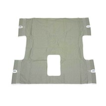 Drive Medical Bariatric Heavy Duty Canvas Sling with Commode Cutout - $85.00