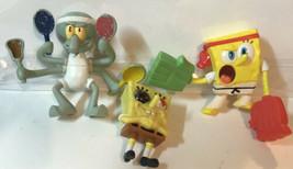 McDonald's Toys Spongebob Squarepants Lot Of 3 - $5.93