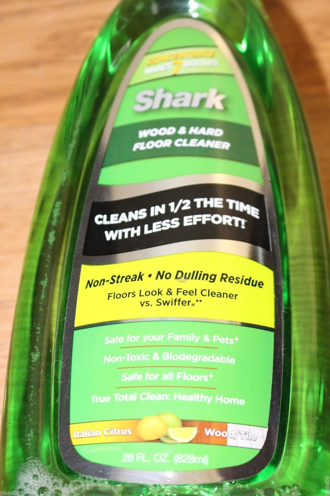 Cleaner For Hard Wood Floor: NEW Shark Wood & Hard Floor Cleaner (28 OZ.) Includes