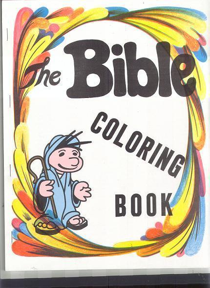 GOSPEL MAGIC BIBLE COLORING BOOK
