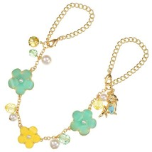 Disney Store Japan Daisy Glittery Flower Necklace Bag Charm Kawaii Girly... - $41.90