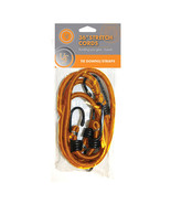 """Ultimate Survival Stretch Cord 2 Pack 36"""", Orange-Elastic Cord w/Coated ... - $14.18 CAD"""