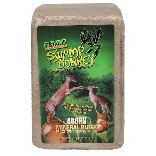 Primos 4 LB. Deer Lick Block  Sweet Acorn-Deer Attractant-Bait