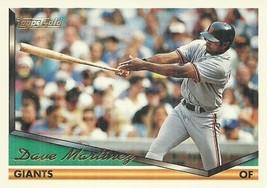 1994 Topps Gold #174 Dave Martinez  - $0.50