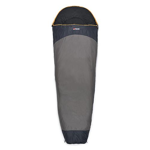 Chinook Everest Micro Mummy Sleeping Bag w/Stuff Sack, +32F Grey