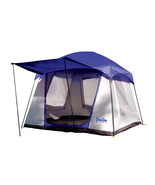 Paha Que Green Mountain 4XD 4 Person Camping Tent w/Straight Sides, Blue - $226.18
