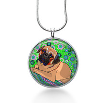 Pug Necklace - Animal Gift - Gifts for Her - Jewelry - $18.32