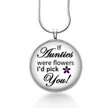 Auntie Love Necklace - Family - Aunt Gift - Gifts fo Her - Jewelry - $18.32