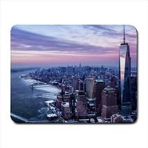 New York City Big Apple Usa Mousepad (Neoprene Non-slip Mousemat) - $7.71