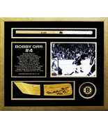 Autographed Bobby Orr Hockey Stick Blade - Museum Framed - Limited Editi... - $1,030.00