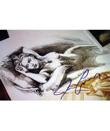 "Titanic Jack's ""Drawing"" Facsimile Signature of James Cameron - $39.00"