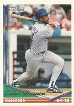 1994 Topps Gold #260 Julio Franco  - $0.50