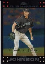 Randy Johnson 2007 Topps Chrome Card #240 - $0.99