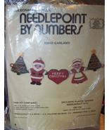 Needlepoint by Numbers Xmas Garland NeedleCraft... - $8.00