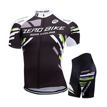 ZEROBIKE® Men's Short Sleeve Breathable Cycling Jersey Sports Clothing 3... - $30.68