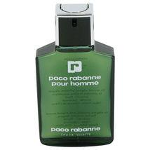Paco Rabanne Pour Homme Edt Spray 3.4 Oz Perfume Cologne Eau De Toilette Men New - $37.99