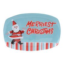 Enesco Department 56 Holiday Santa Serving Plat... - $9.50