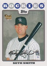 Seth Smith 2008 Topps Series 1 Rookie Card #56 - $0.99