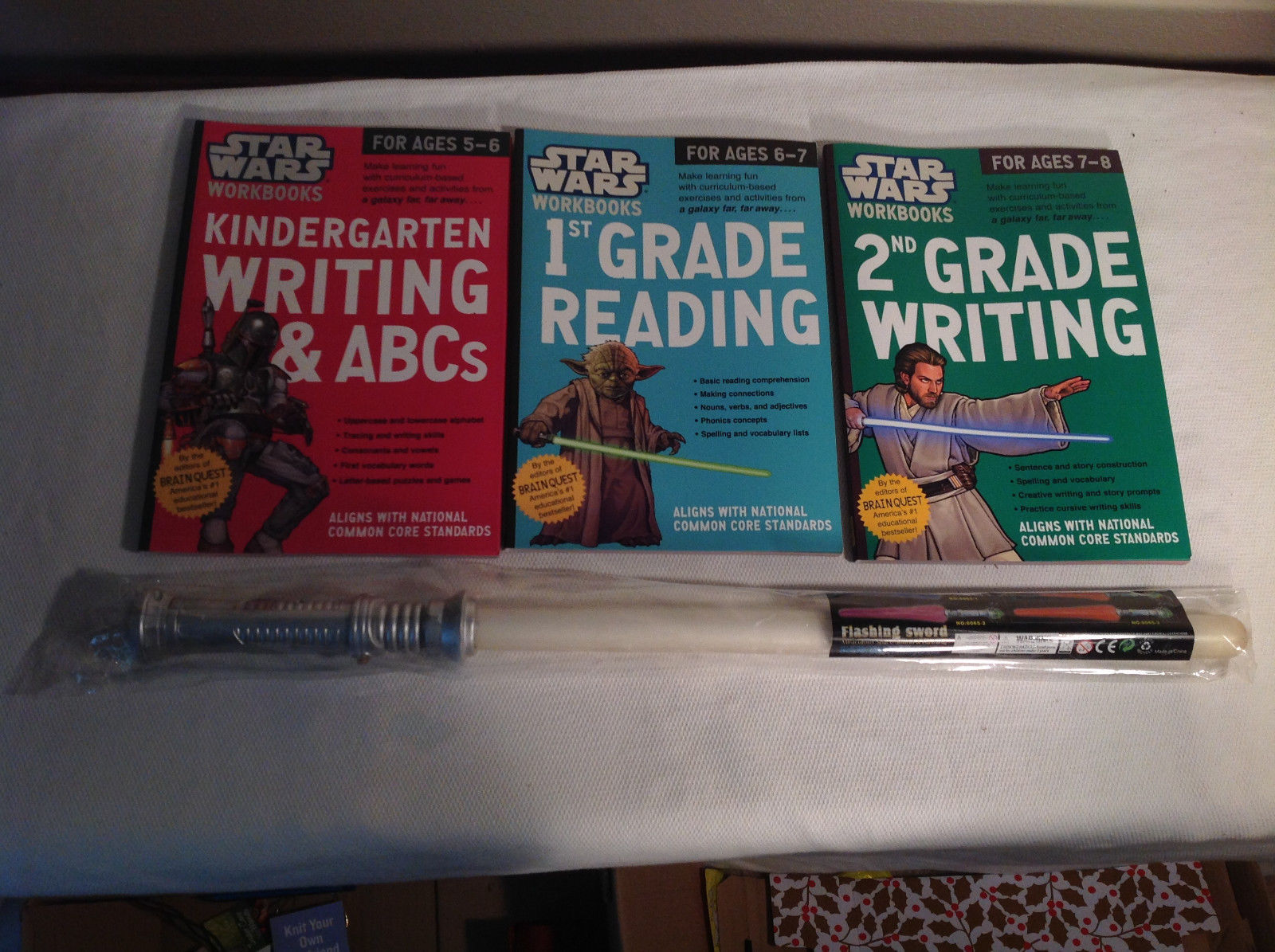 Star Wars Educational Books and Toy Kindergarten - 2nd Grade