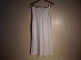 Womens Ann Taylor Loft Size 10 Plain Cream Skirt