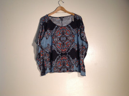 Womens Style and Co. Size XL Abstract Pattern Shirt